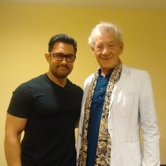 'Sonam Kapoor's here yaa, it's a pretty hot scene!' When Mumbai met Ian McKellen