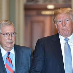Republican Senator Mitch McConnell is the man who made Donald Trump's rise possible