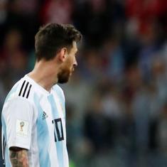 विश्व कप में बड़ा उलटफेर, क्रोएशिया ने अर्जेंटीना को 3-0 से हराया
