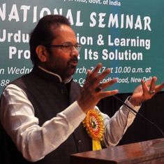 Mukhtar Abbas Naqvi acknowledges Alwar lynching but refuses to apologise for earlier denying it