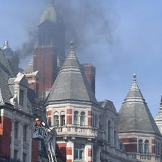London: Blaze engulfs 115-year-old Mandarin Oriental hotel, no casualties reported