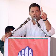 Grand alliance to stop Narendra Modi reflects the sentiments of people, says Rahul Gandhi