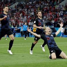 Croatia's Vida celebrates win against Russia with 'glory to Ukraine' slogan, Fifa to investigate