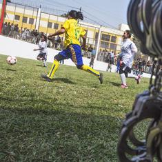 Football: Peru gets out of jail to win prisoners 'World Cup'
