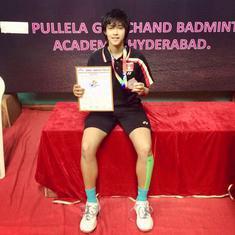 Ashmita Chaliha, the aggressive lefty from Assam, is finally entering Indian badminton's big league