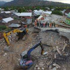 Indonesia: Earthquake toll rises to 347, says report by sub-district heads