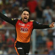Rashid's here, Rashid's there, Rashid's everywhere, as he single-handedly takes SRH into IPL final