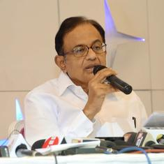 Arrests of activists are strong-arm tactics to muzzle freedom of expression, says P Chidambaram