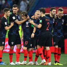 World Cup quarter-final, as it happened : Croatia beat Russia on penalties to book semi-final spot