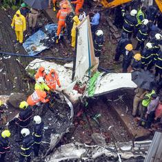 Mumbai: Five people killed after chartered plane crashes in Ghatkopar, blackbox found