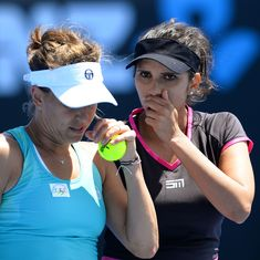 Sania Mirza and Barbora Strycova beat Hingis-Chan duo to enter Miami Open final
