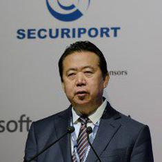 Former Interpol chief Meng Hongwei's wife sues agency for 'failing to assist her family'