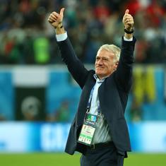 World Cup final: For 'lucky' Didier Deschamps, history and redemption at stake against Croatia
