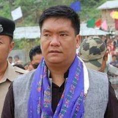 अरुणाचल प्रदेश : विपक्षी पार्टी के सात विधायक सत्ताधारी भाजपा गठबंधन में शामिल हुए