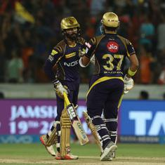 Clinical Kolkata Knight Riders beat Sunrisers Hyderabad by five wickets to enter play-offs
