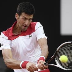 Italian Open: Djokovic sets up 51st clash with Nadal; Sharapova wins a dramatic quarter-final