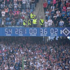 Six-time German champions Hamburg relegated after 55 seasons in the Bundesliga