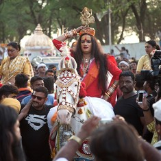 How a new akhara of transgendered people stole the spotlight at the Ujjain Kumbh