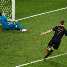 Fifa World Cup: Croatia defeat Russia on penalties to set up semi-final clash against England