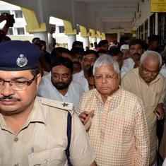 Lalu Prasad Yadav complains of stray dogs and mosquitoes, asks Ranchi hospital to change his ward
