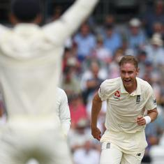 'A complete shot in the dark': Stuart Broad is far from impressed by Michael Vaughan's criticism