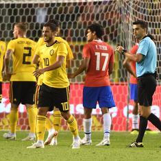 Romelu Lukaku brace helps Belgium beat Costa Rica 4-1 in World Cup warm-up friendly