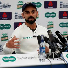 'Don't feel we need to change anything': Kohli hints at unchanged XI for fourth Test