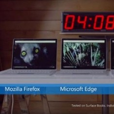 Watch: Microsoft Edge is the best browser. No, really, they have 'proof'