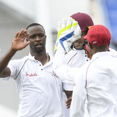 West Indies bowl out Bangladesh for record low total of 43