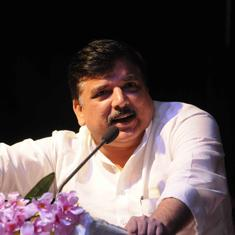 AAP leader Sanjay Singh alleges protestors attacked his vehicle in Madhya Pradesh's Chhindwara