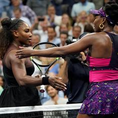 US Open: It's all Serena in the clash of the Williams sisters as Venus goes down in straight sets