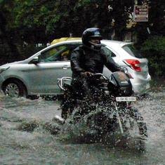 Heavy morning rain in Delhi-NCR disrupts traffic, causes waterlogging in many areas