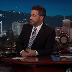 Watch: Rapper Riz Ahmed gets Jimmy Kimmel to reprise 'Mogambo khush hua'
