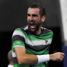 Marin Cilic wins a five-setter against Alex de Minaur in second latest finish at US Open