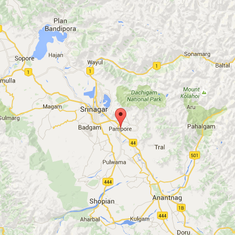 Encounter underway at government building in Pampore, one soldier injured