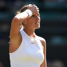 21 seeds say goodbye: On day of upsets at Wimbledon, Kvitova's first-round exit was the shocker