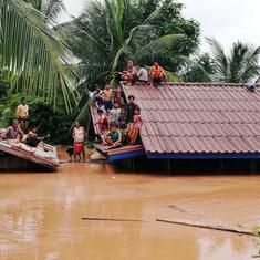 Hundreds missing, several feared dead after under-construction dam collapses in Laos