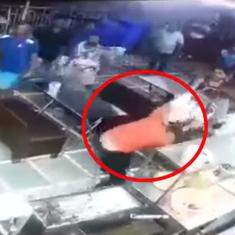 Caught on camera: BJP corporator in Mumbai beats up restaurant owner with the help of goons