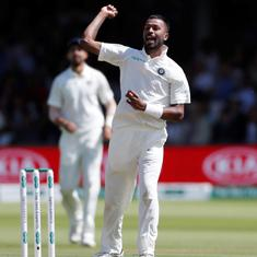 Hardik Pandya rues lack of assistance for bowlers during post-lunch session on day three