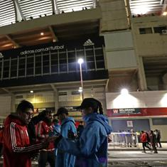 In Argentina, football fever is helping the police nab criminals watching matches at stadiums