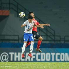 AFC U-16 Championship: India go down fighting against South Korea, lose 1-0 in the quarter-final