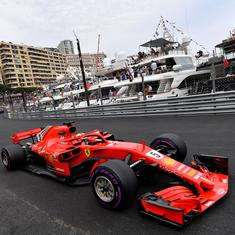 German GP: Ferrari's Vettel on pole for home race while Hamilton's Mercedes breaks down