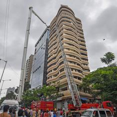 The big news: Four killed in blaze at residential building in Mumbai, and nine other top stories