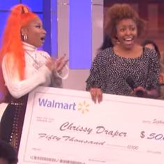 Watch: Singer Nicki Minaj helped three college students pay off student loans – on a TV show