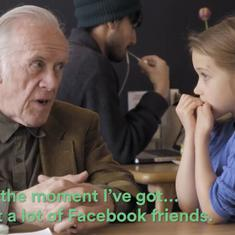 Watch: A campaign to end loneliness is encouraging adults to learn from children