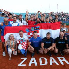 Davis Cup: Croatia set up final against France after Coric beats Tiafoe in thriller