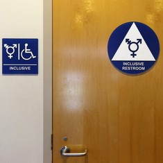 How did public bathrooms get to be separated by gender in the first place?