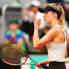 Italian Open: Defending champion Svitolina enters final, awaits Sharapova or Halep