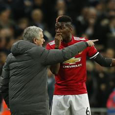 Pogba has to play with the same mentality as the team: Mourinho after dropping him vs Fulham