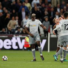 Manchester United held to a goalless draw by West Ham but secure second-place finish